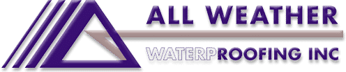 all weather water proofing logo